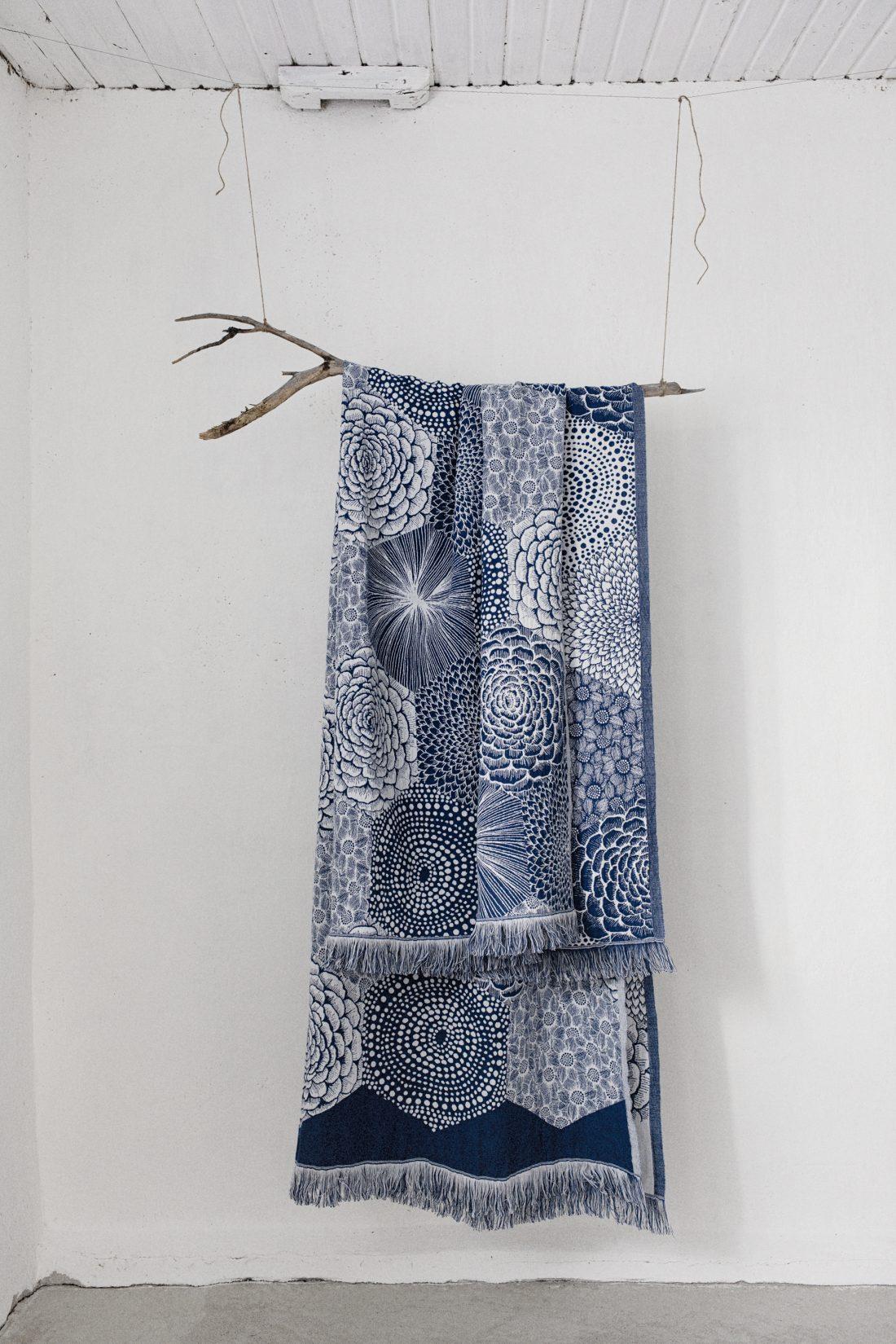 Katinka Kreative linen blanket sustainable design