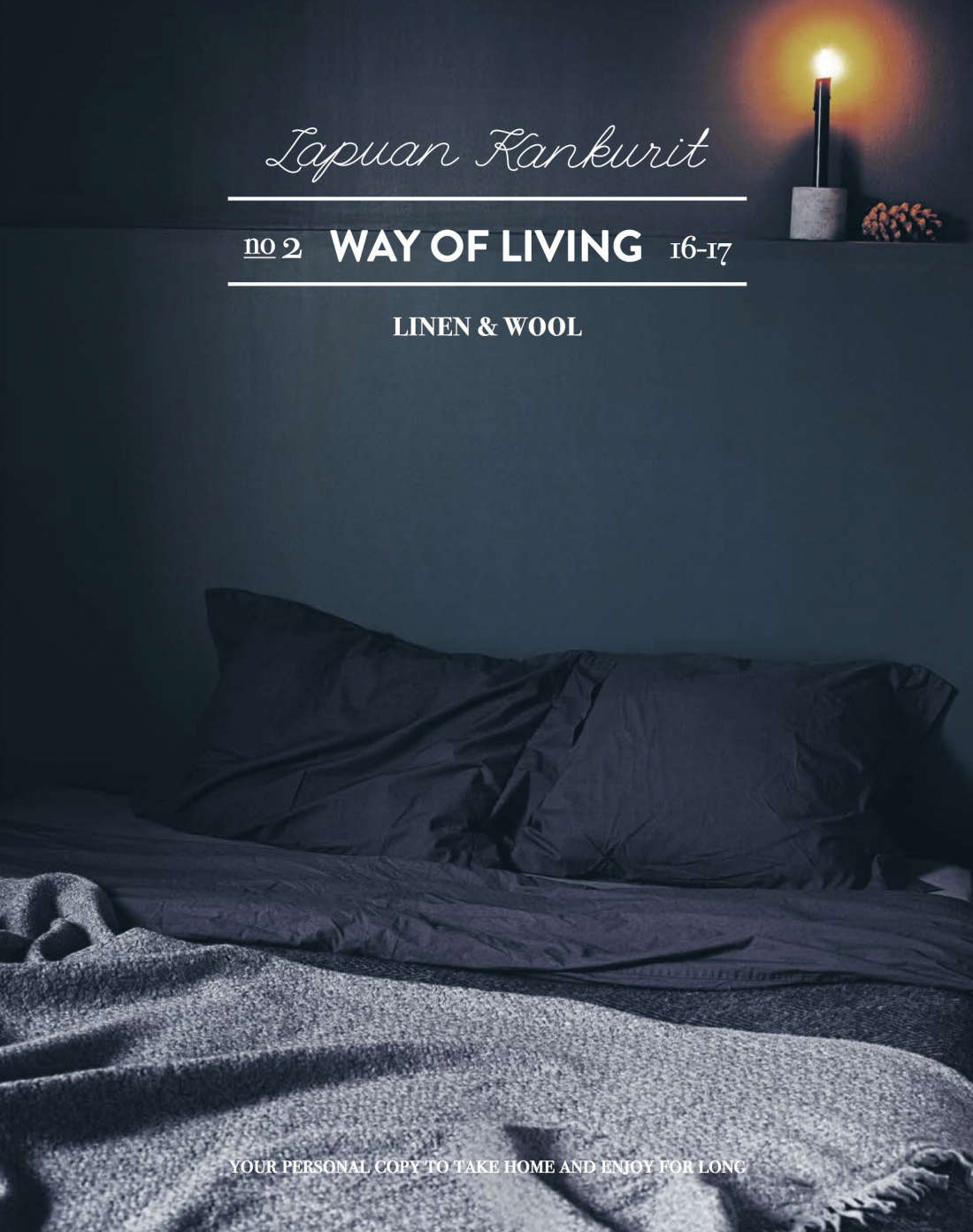 Katinka Kreative dark bedding sustainable design